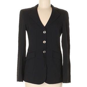 H&M Black Wool Women's Suit Blazer Size 6